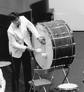 吹奏楽コンクール全国大会で(高2)