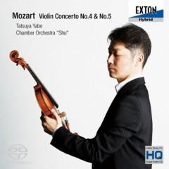 最新CD<br /> 『モーツァルト:ヴァイオリン協奏曲第4番・第5番「トルコ風」』(EXTON)