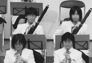 北九州市ジュニアオーケストラの演奏会(左上/中1)