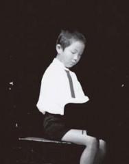 ピアノの発表会で(小学1~2年ころ)